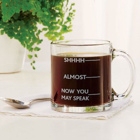 Warning Mug    Fair Warning To Those Around You, At Home Or The Office
