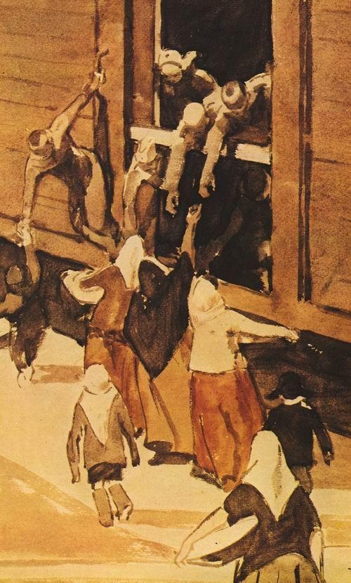 сойфертис, поезд уходит, 1944