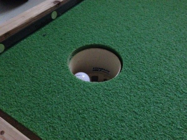 How To Build An Indoor Putting Green 7 Golf Pinterest