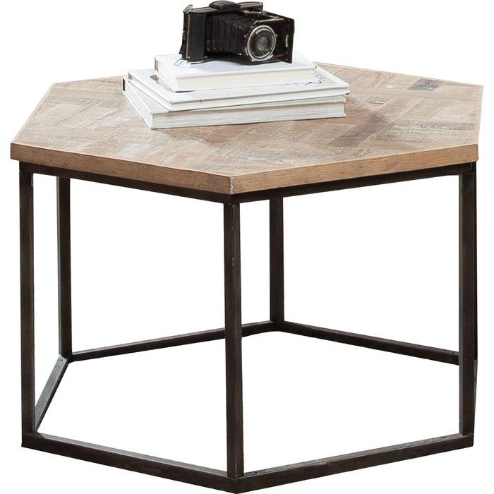 Riverside Furniture Thornhill Hexagon Coffee Table & Reviews | Wayfair