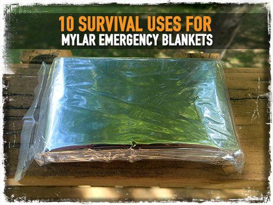 10 Survival Uses for Mylar Emergency Blankets via @prepforshtf