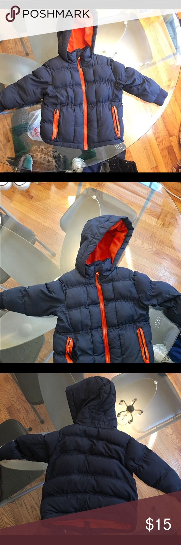 Toddler boys winter coat Toddler boys winter puffer coat with a tear on one of the pockets Children's Place Jackets & Coats Puffers