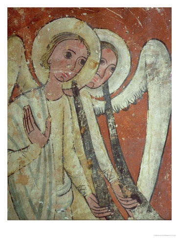 Angels with Trumpets from Last Judgement