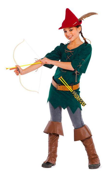 Heldinnen des Waldes im Robin Hood-Style - Schnittmuster und Nähanleitung via Makerist.de