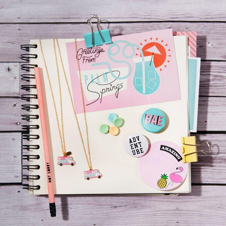 Customiza tus cuadernos ;) #Pins #MakeItYours #Pin #PinFever #Todomoda