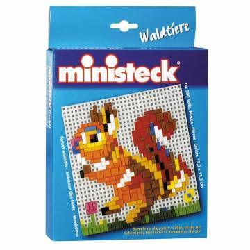 Maak met de 500 ministecksteentjes het dier, zoals afgebeeld op de voorkant van de doos. Als je klaar bent, kan je je kunstwerk ophangen met het bijgeleverde haakje!