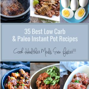 A delicious collection of low carb and Paleo Instant Pot recipes thatthe entire family will love!    Instant Pots are all the rage these days and for good reason – it's one of the most useful small kitchen appliances out there! With so many functions to choose from, you can make almost anything...Read More »
