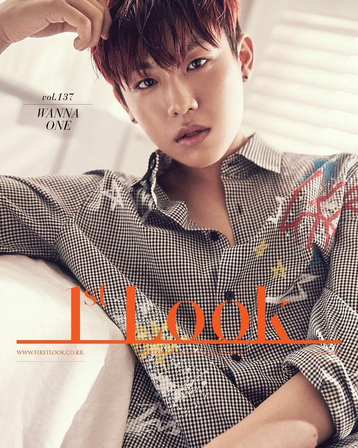 WANNA ONE for 1st Look Magazine Individual Pics - OMONA THEY DIDN'T! Endless charms, endless possibilities ♥