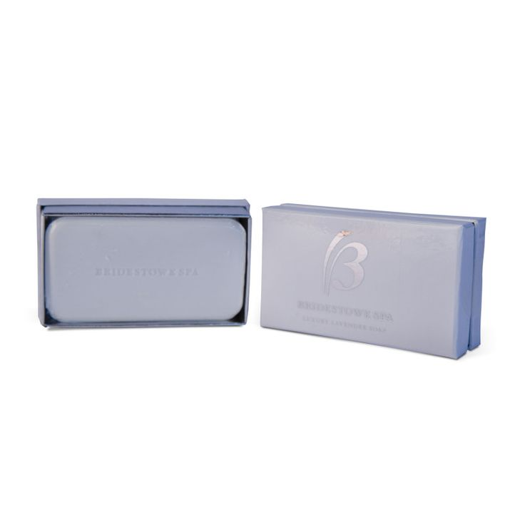 Bridestowe SPA Luxury Soap Bar - $13.95 AUD.  This luxurious soap from our premium SPA line contains 14% pure Bridestowe Lavender Oil, and enriching cocoa and shea butters give it a creamy, luxe feel. The polished packaging makes it ideal for gifts.