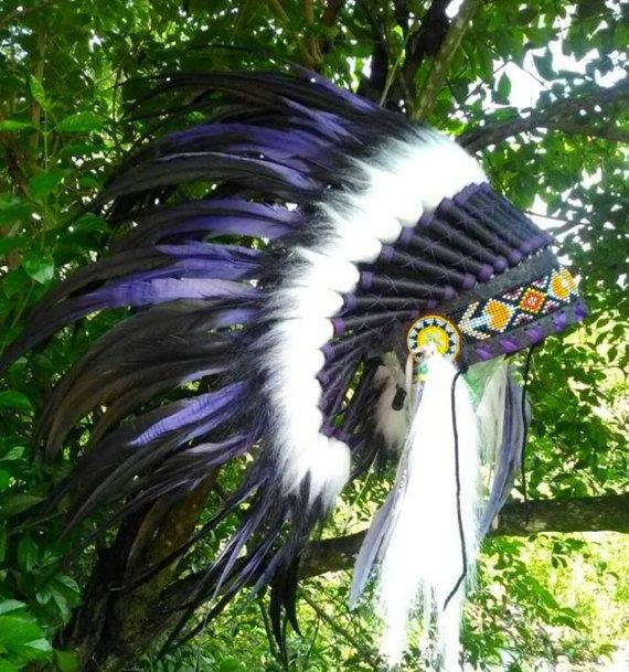 Baby Native American inspired Headdress Indian style