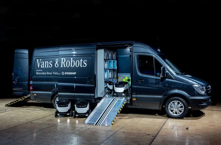 With its involvement as lead investor, Mercedes-BenzVans underpins its strategic, long-term collaboration with StarshipTechnologies  A first prototy