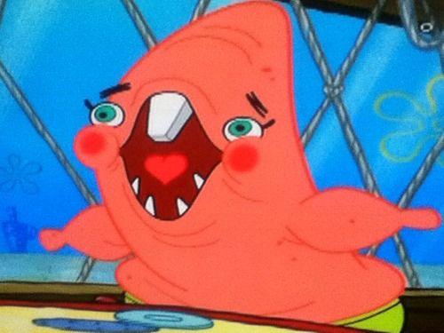 group of spongebob patrick funny faces