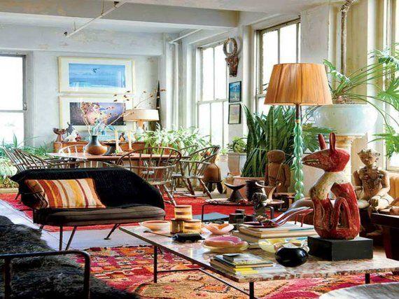 Eclectic Bedroom Decor Vintage