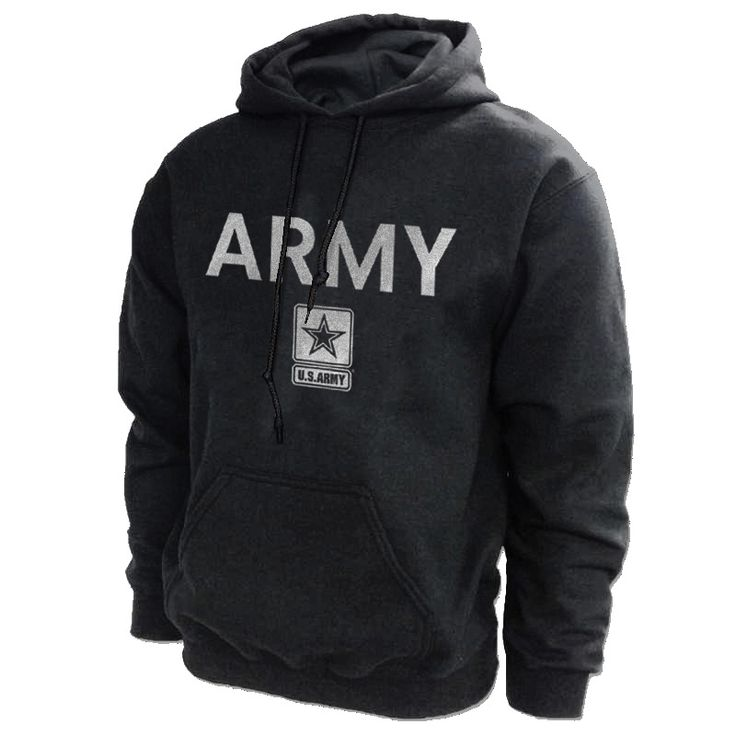 Army PT Pullover Military Hoodie-Historic Aviation