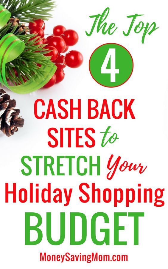 stretch your holiday shopping budget with online cash back sites