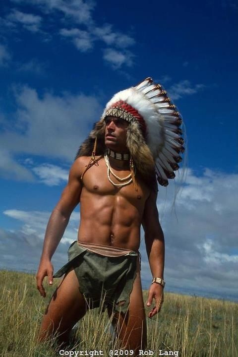 Native american hunks