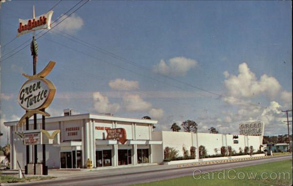 Joe Adeeb S Green Turtle Restaurant Jacksonville Florida From Times Past In 2018 Pinterest And Beach