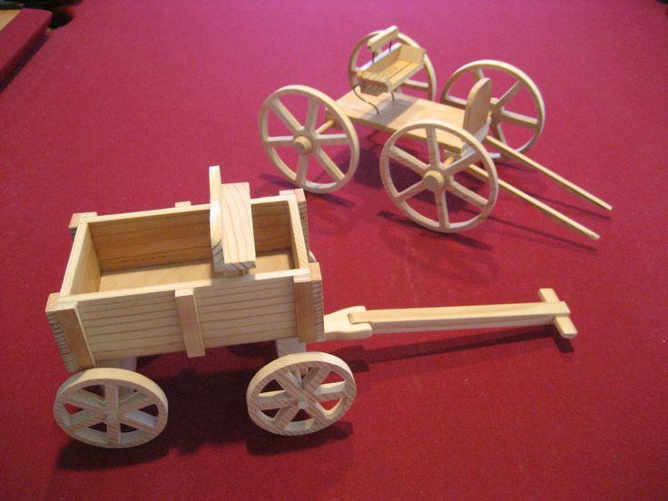 Miniature Buckboard Models