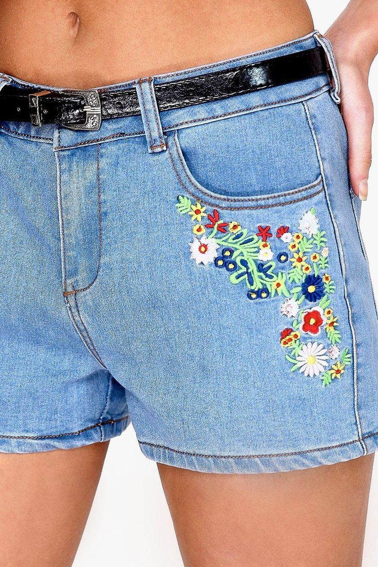 Best ideas about embroidered shorts on pinterest