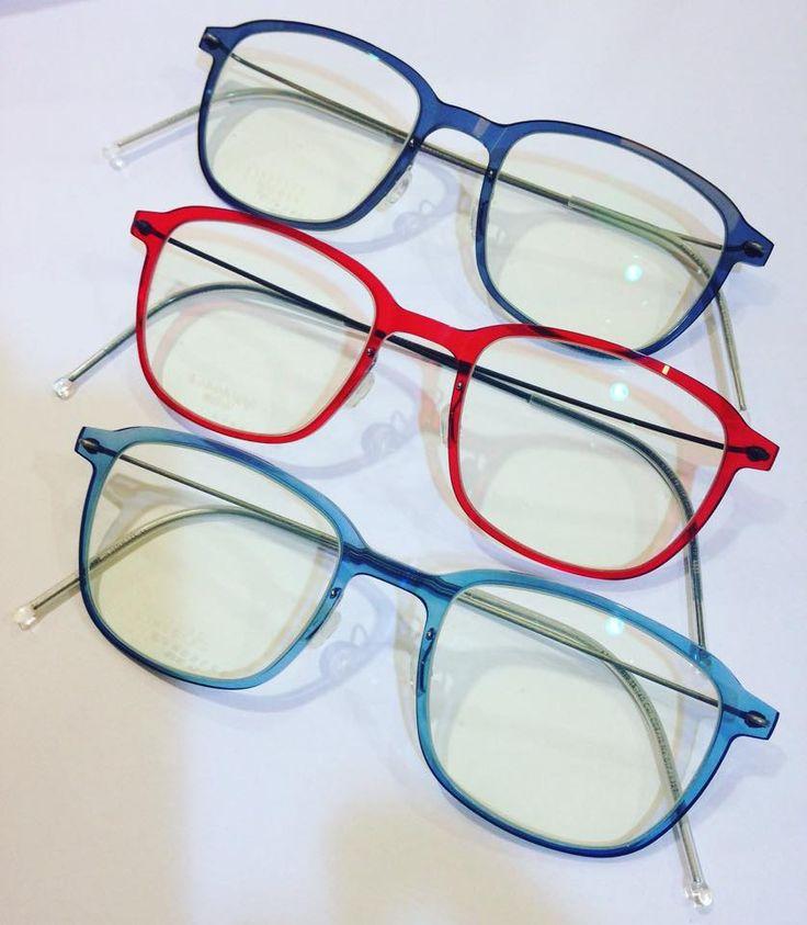 Lindberg...choosing colour..love them all!!! #LindbergEyewear #BeSeenOptics #Kolonaki #Kifisia #Halandri