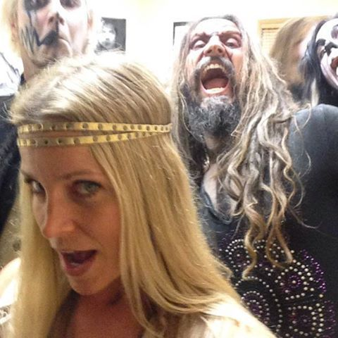 Rob Zombie And Wife
