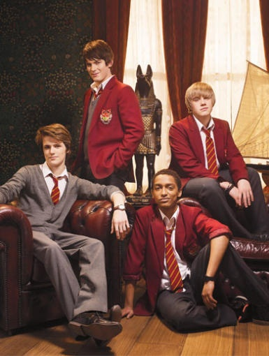 Besides being great eye-candy, Alfie, Jerome, Mick and Fabian are key to solving this Anubis mystery.