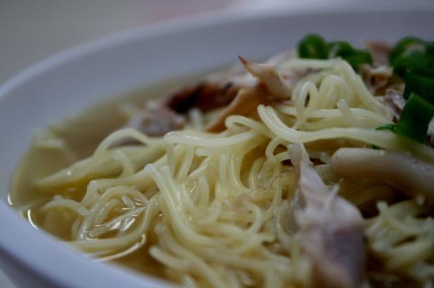 Wayne's Mennonite Noodle Soup. Photo by Chef floWer