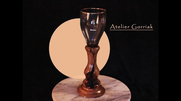 pin-up Atelier Gorriak verre st feuillien grand cru