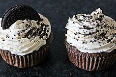 Oreo Cupcakes... selber ausprobiert und für unwiderstehlich befunden! #rezept