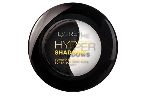 Dueto de sombras satinadas (Extreme, $63).