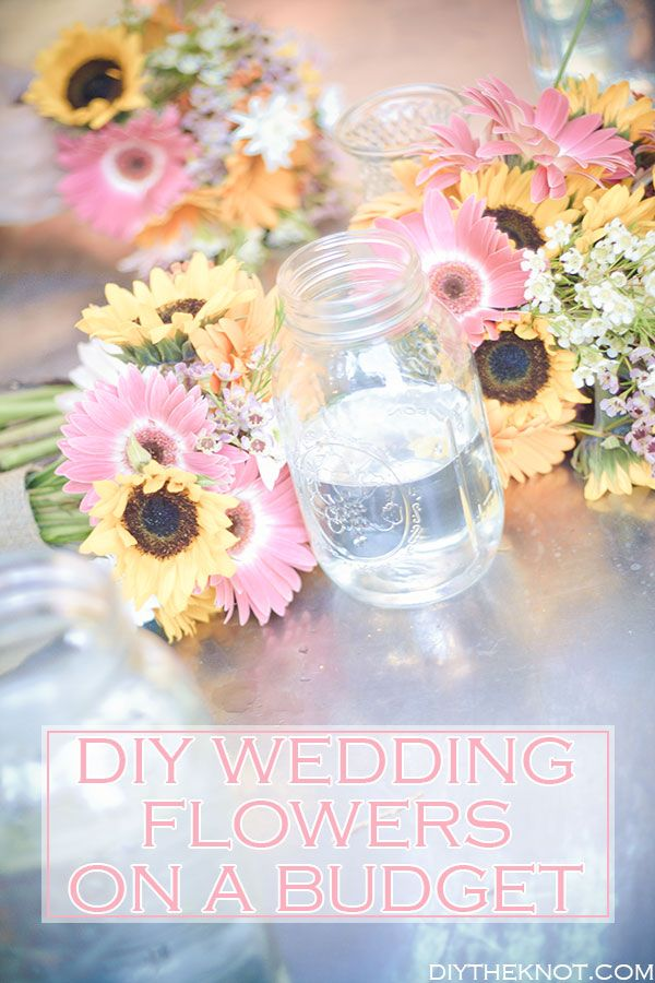 wedding flowers budget diy wedding flowers on a budget diy wedding ideas 9548