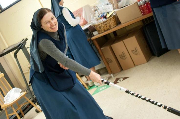 """Sister Helena Burns""--hockey nun  http://storify.com/TSNKate/sister-helena"