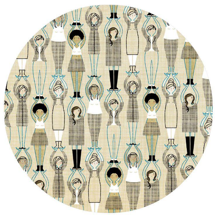 Women\'solidarity pattern