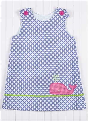 Shrimp and Grits  WHALE/BUNNY REVERSIBLE JUMPER