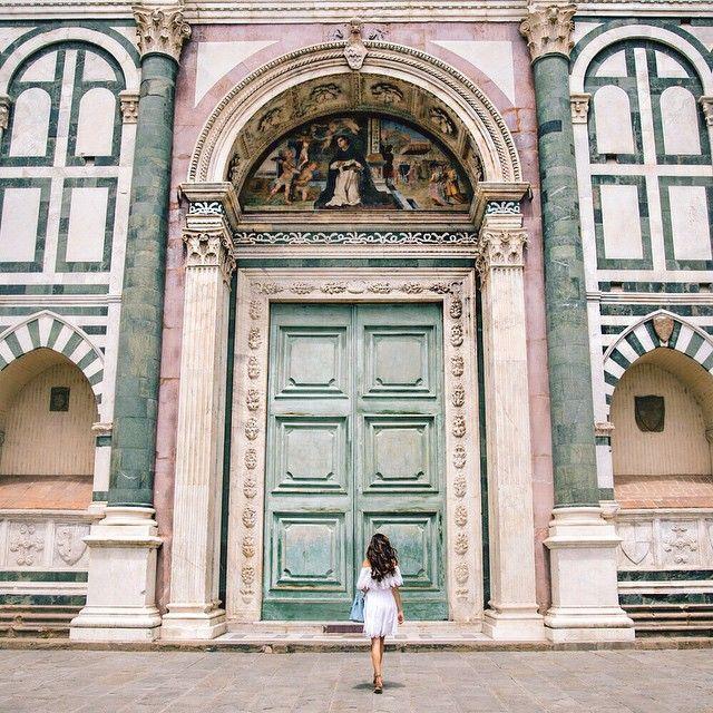 Italy: details Basilica of Santa Maria Novella, Florence