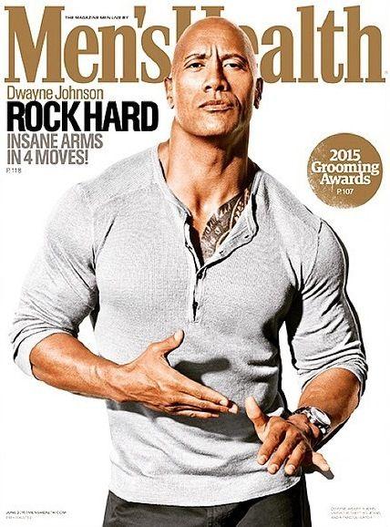 dwayne johnson magazine covers | Entertainment News: Dwayne Johnson Covers The Latest Issue Of 'Men ...
