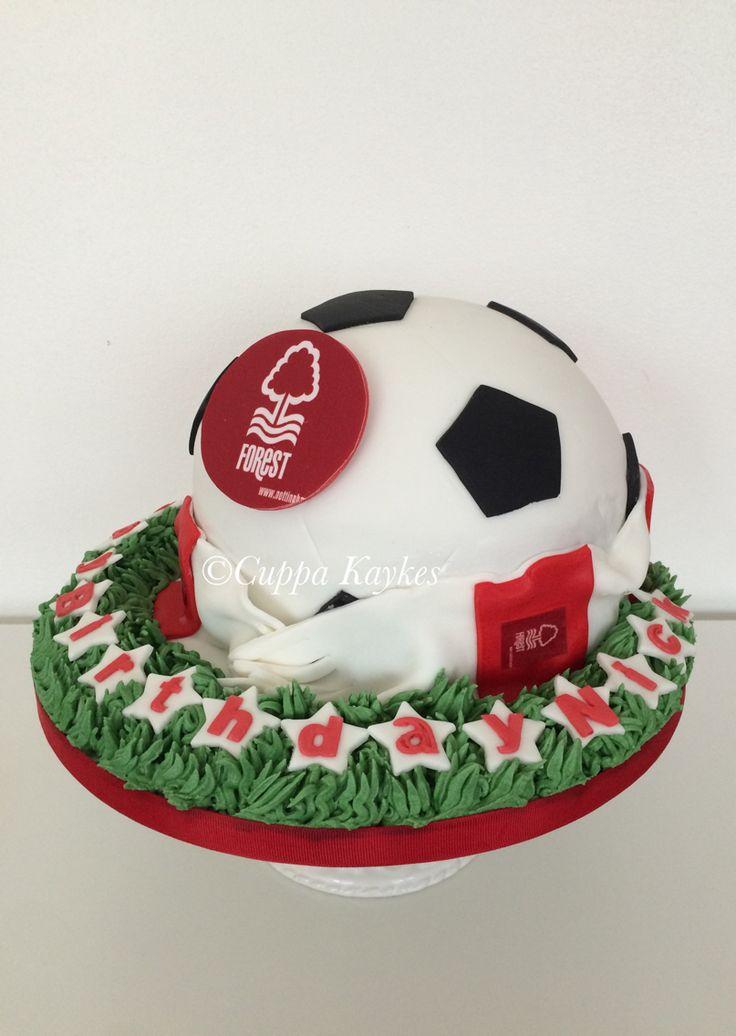 Nottingham Forest Football Club NFFC cake