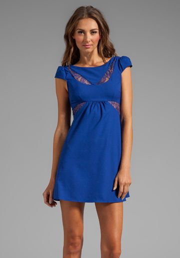 LADAKH Berlin Dress in Royal Blue