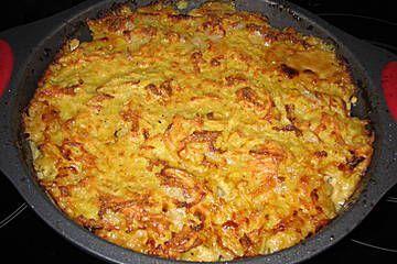 Geschnetzeltes mit Kartoffelhaube