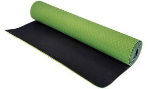 Northern Lights 5mm TPE Yoga Mat, Green
