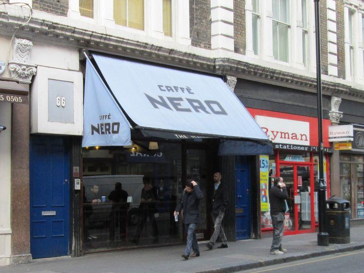Caffe Nero store No. 002.  South Kensington, London.  Visited on 25/03/2015