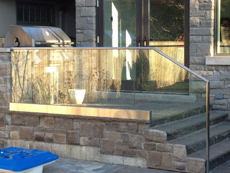 Outdoor Glass Railing Copyright : Adanac Glass