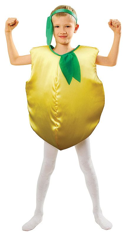 Lemon Costume, Strój Cytryna