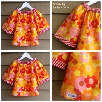 Apple&Soda | Children | Clothing | 'Mabel' top - Handmade Emporium