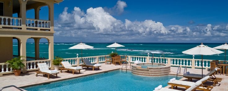 Just the view from the terrace at Villa Majestic, our newest property in Anguilla. No big deal.