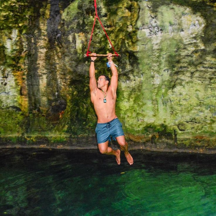 His eyes are ablaze See the madman in his gaze. Fly on your way like an eagle Fly as high as the sun. #canopy #cenote #hanging #tirolesa #cenotemaya #fitnessmotivation #yucatan #rocklyrics #ironmaiden #icarus #freedom #fitness #cave #nature #fun #olympustours #yucatanmexico #yucatanadventure #instacool #mextagram #visitmexico