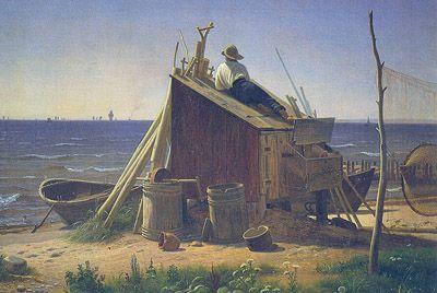 Romantikkens sværmen for det idylleriske og folkelige kom til udtryk i både billedkunst og litteratur. Ofte med Nordsjælland som motiv.