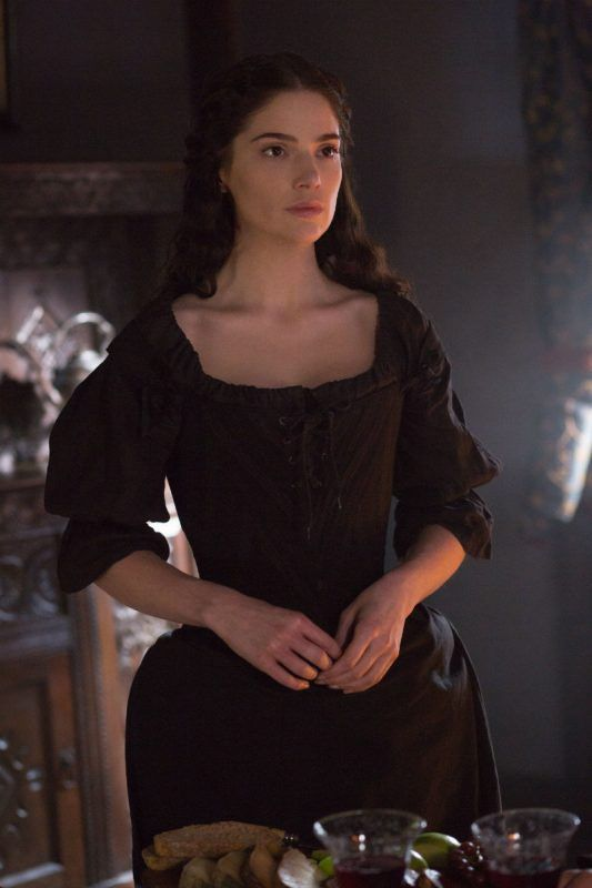Salem 302 The Heart is a Devil review   The witch is back!  Mary Sibley has risen from the dead thanks to the Essex witches. The first thing Mary does is try to find the man she died for  John Alden. After realizing he is not there and she is among her fellow witches Mary threatens to leave. Oh but her sisters reveal the truth: She is bounded with the primordial tree of Salem so she can never leave Salem. At first Mary refuses to give into the demands of the witches. But it is only when…
