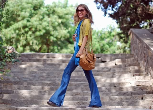 Mireia from My Daily Style wearing Ash wedges