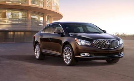 2014 #Buick #LaCrosse  Embossing the LaCrosse with a little more gloss.
